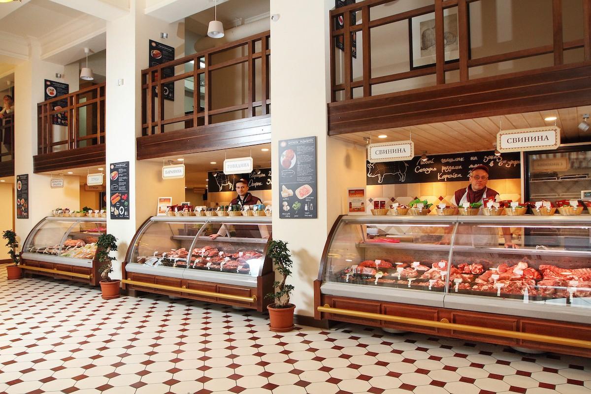 Дизайн мясной магазин фото